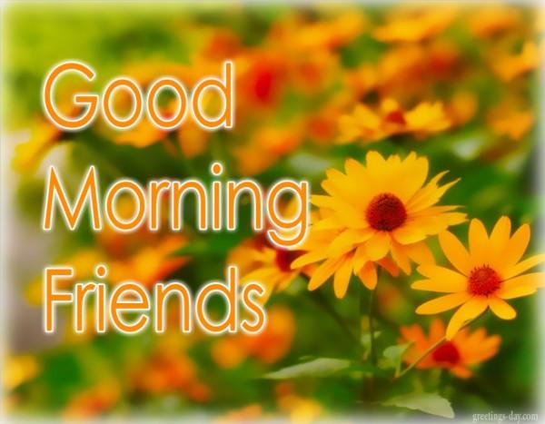Good Morning Friends - God Bless-wg01722