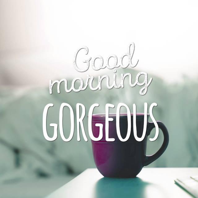 Good Morning Gorgeous French : Good morning gorgeous