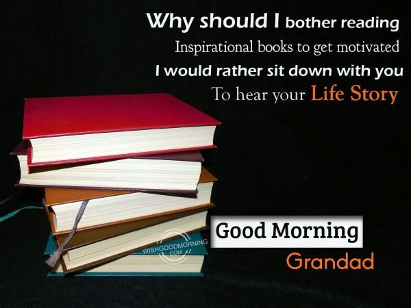 Good Morning Grand Dad-wm2402