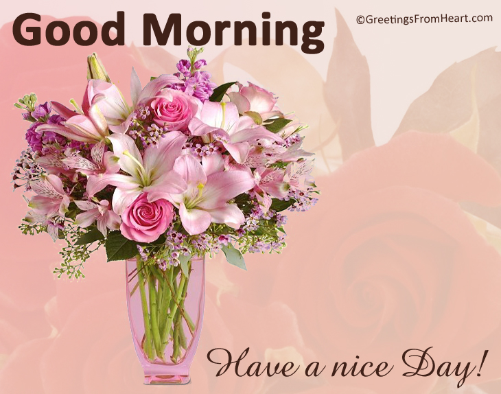 Good Morning Wishes With Flowers Pictures, Images - Page 49