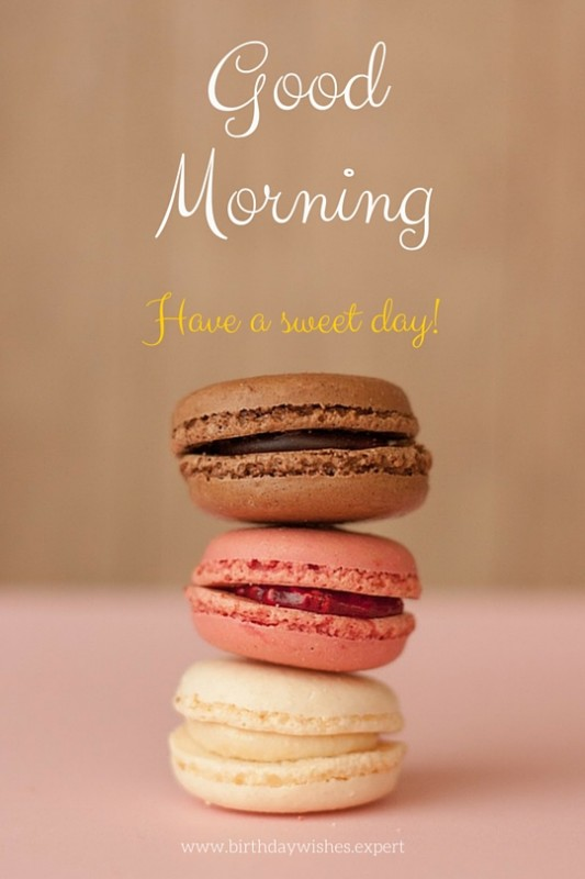 Good Morning Have A Sweet Day-wg01728