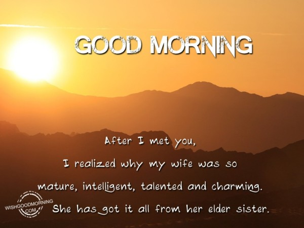 Good Morning-I Met You-wg9705