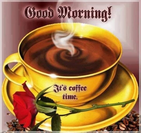 Good Morning-It's Coffee Time-wm1963