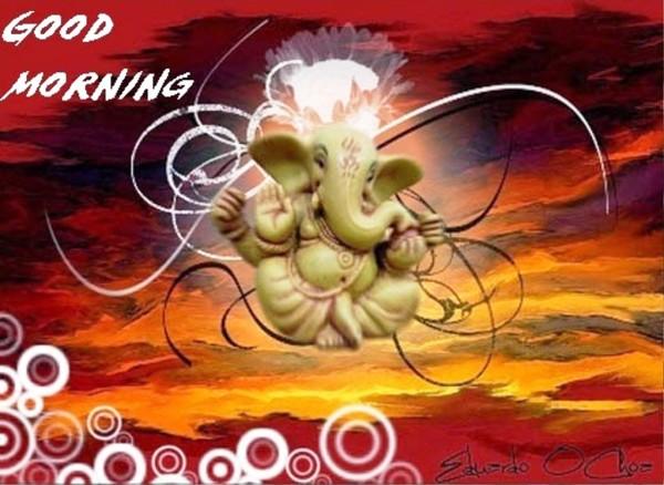 Good Morning Jai Ganeshaye Namah -wb450