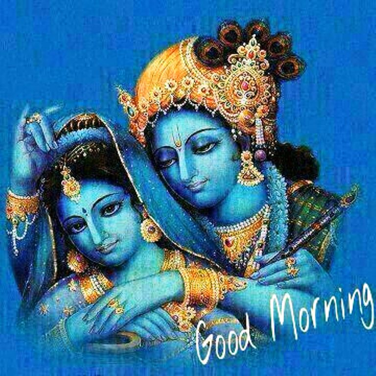 Good Morning Jai Shree Krishna wb4202
