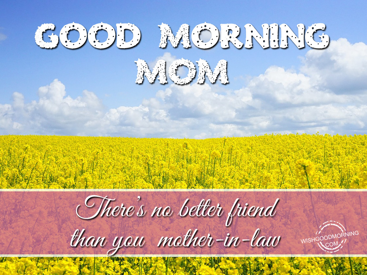 Good Morning Mom Beautiful Image