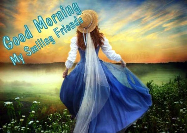 Good Morning My Smiling Friends-wg01333