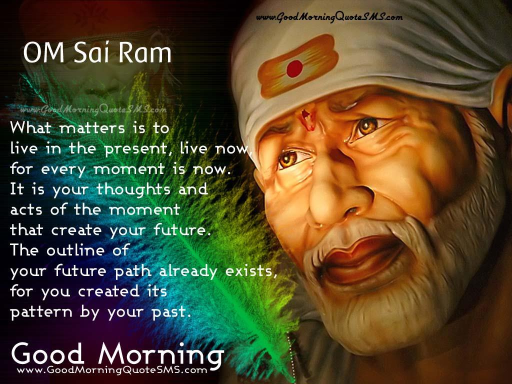 Good Morning Om Sai Ram