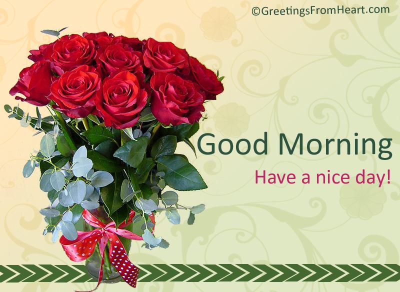 Good Morning Buddy In Spanish : Good morning roses