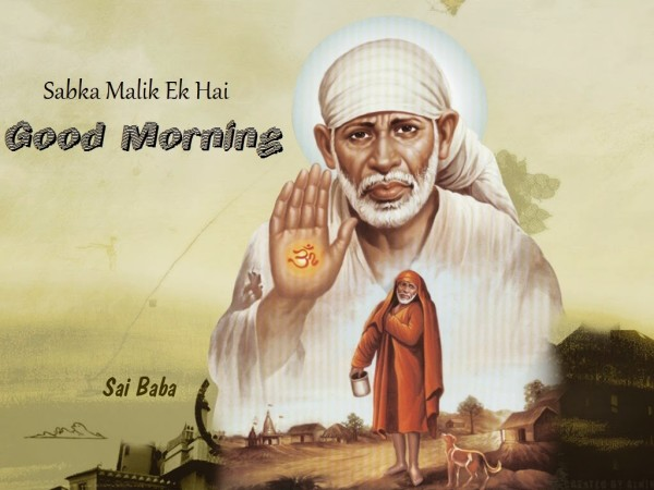 Good Morning-Sai Baba-wm0326