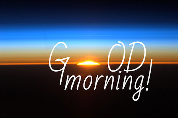 Good Morning In Spanish To A Lady : Good morning sunrise image