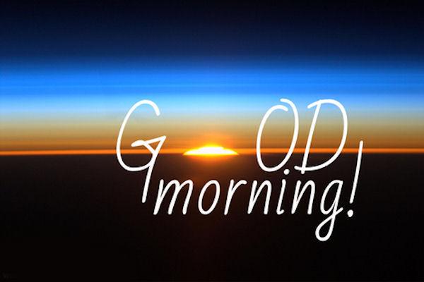 Good Morning Monday In French : Good morning sunrise image