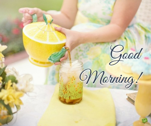 Good Morning - Tea !-wg017042