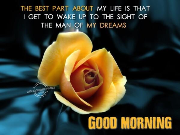 Good Morning The Man Of My Dreams-wb5512