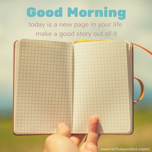 Good Morning Today Is A New Page-wg01009