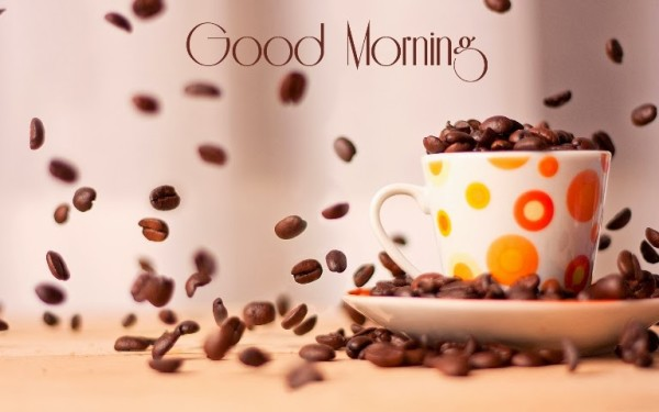 Good Morning With Coffee Beans-wg015040