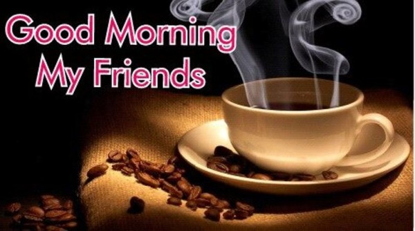 Good Morning With Coffee Cup-wg02312-wg02512