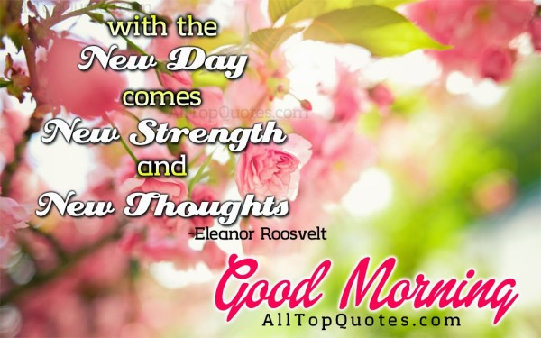 Good Morning With New Thoughts-wg017113
