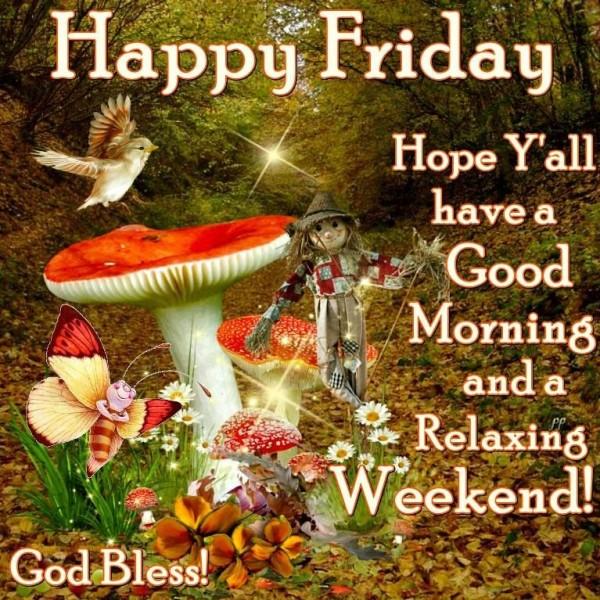 Happy Friday Good Morning-GD17