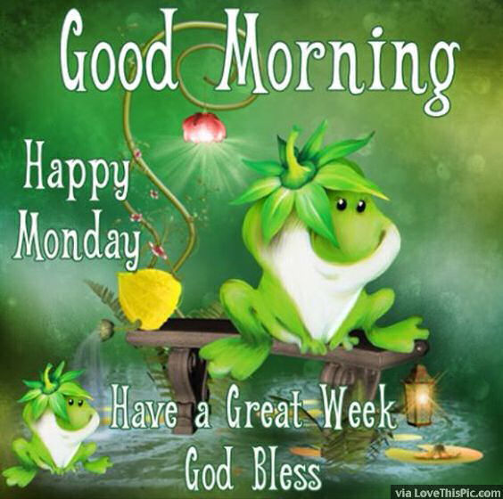 Happy Monday - Have A Great Week-wg015053