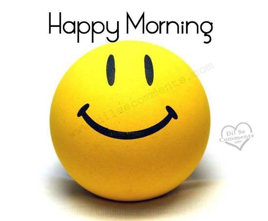 Good Morning Smile Pics : Happy morning