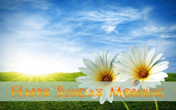 Happy Sunday Morning - Image-wg0717