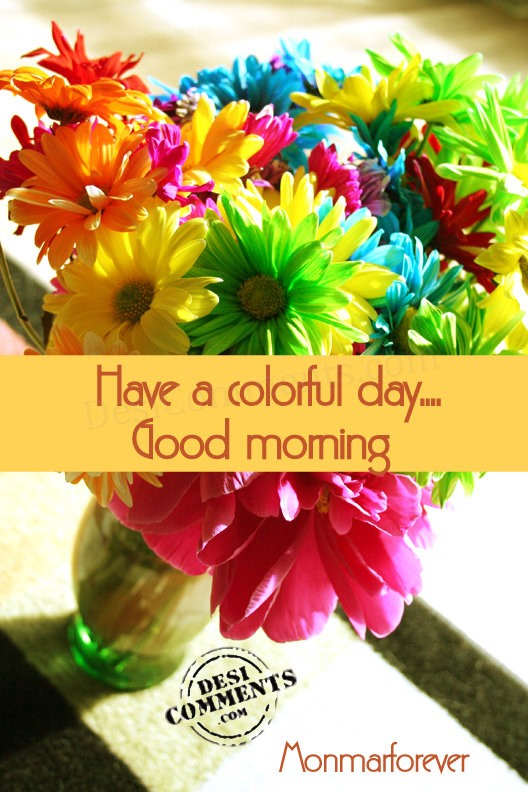 Have A Colorful Day Good Morning-wg01653