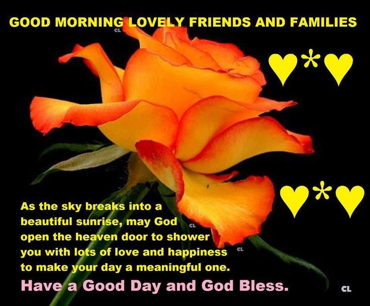Have A Good Day And God Bless