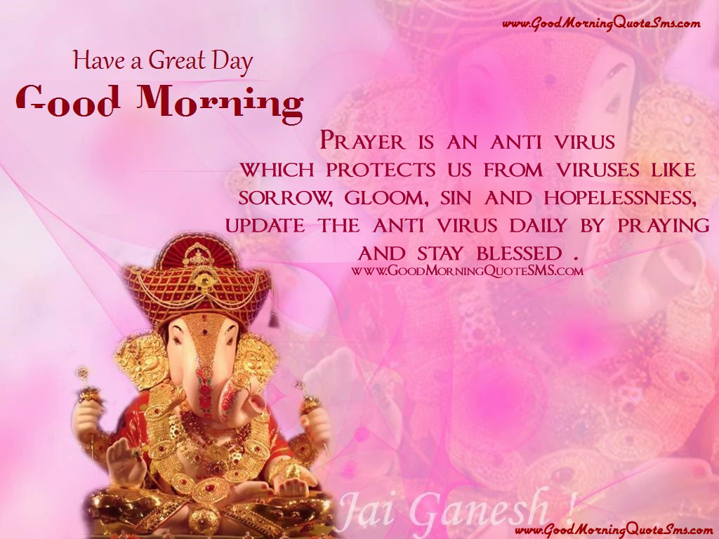 Have A Great Day Good Morning With Ganesh Ji