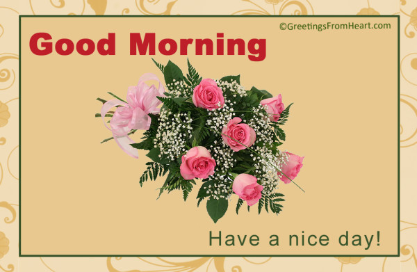 Good Morning Wishes With Flowers Pictures, Images - Page 41