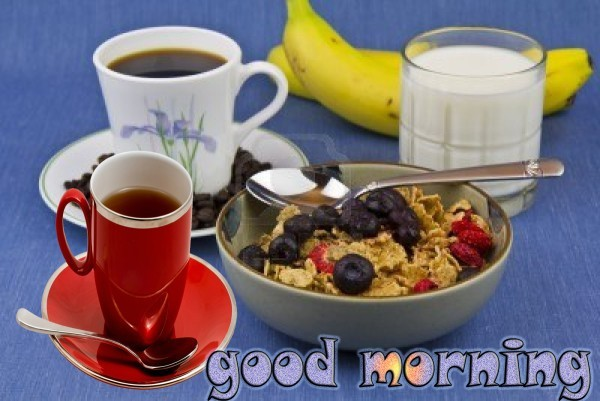 Have Some Healthy Food - Good Morning-wg015076