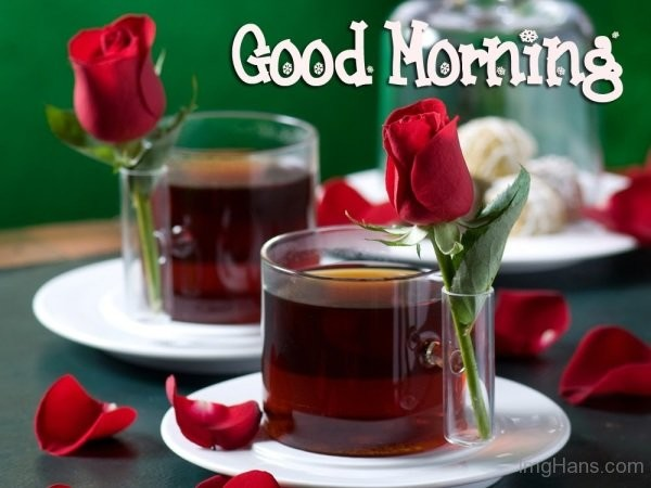 Good Morning Wishes With Tea Pictures Images