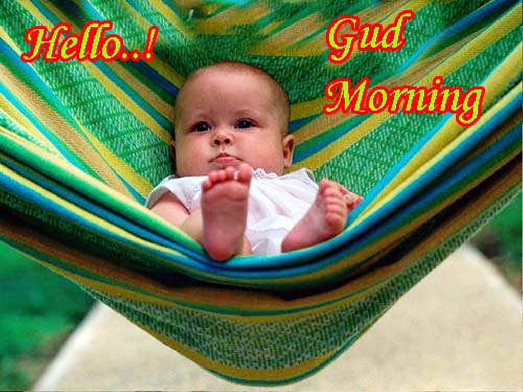 Good Morning Funny Pic Baby Naturallycurlyecom
