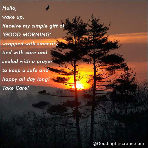 Hello Wake Up - Good Morning-wg015078