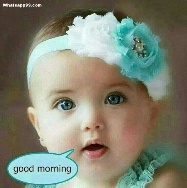 Hey Good Morning - Cute Baby-wg0237