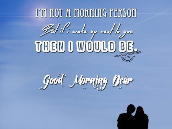 I Am Not A Morning Person-wb582