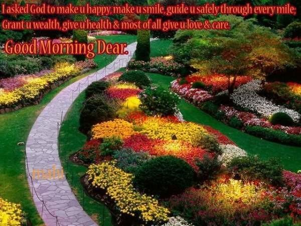 I Asked God To Make U Happy - Good Morning-wg06509