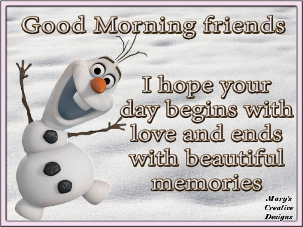 I Hope Your Day Begins With Love-wg01667