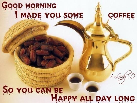 I Made You Some Coffee - Good Morning-wg017147
