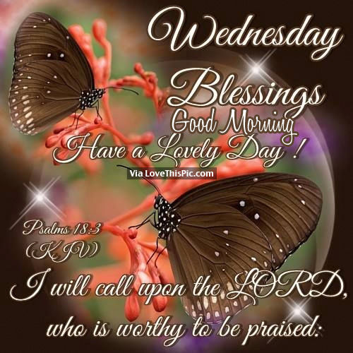 Elegant Good Morning Wednesday Blessings Quotes And Images ...