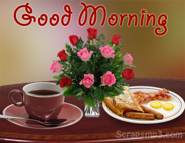 Lovely Image With Food - Good Morning-wg017160
