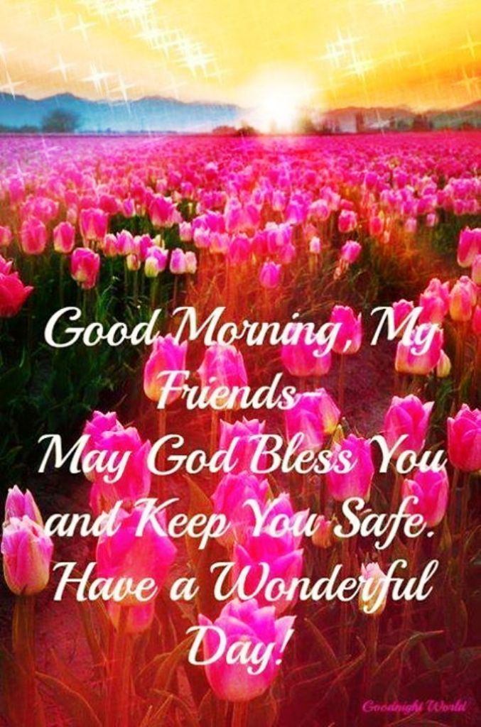 Good Morning Everyone God Bless You All : May god bless you good morning