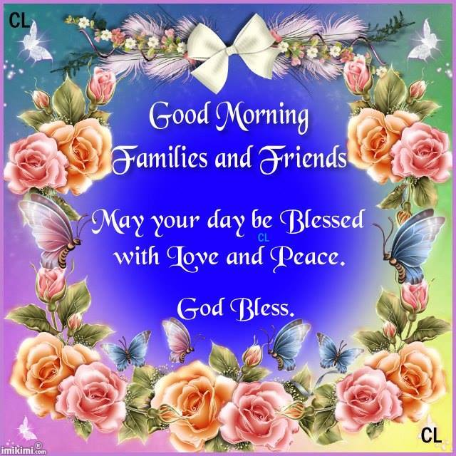 May You Be Blessed-Good Morning