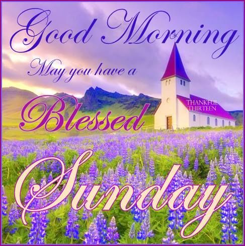 May You Have A Blessed Sunday-wg55