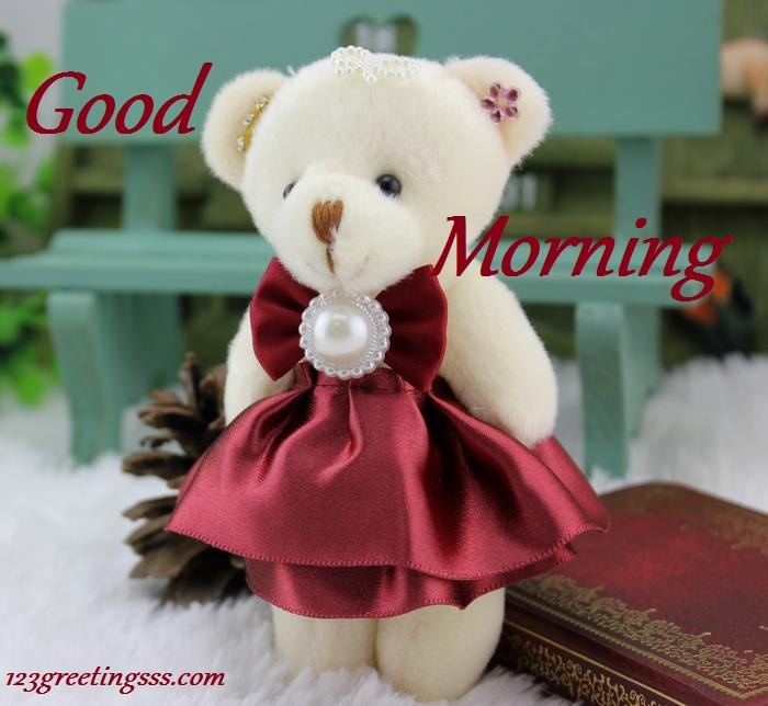 Good Morning Wishes With Teddy Pictures Images