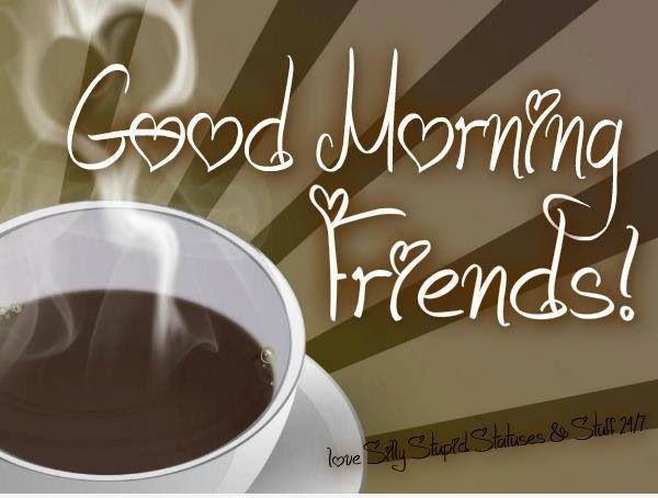 My Friends Good Morning !-wg02321-wg02521