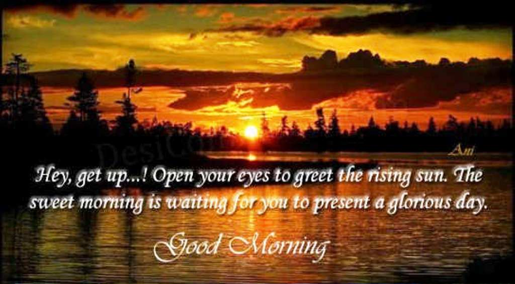 Good morning quotes pictures images page 101 open your eyes to greet the rising sun wg01386 m4hsunfo