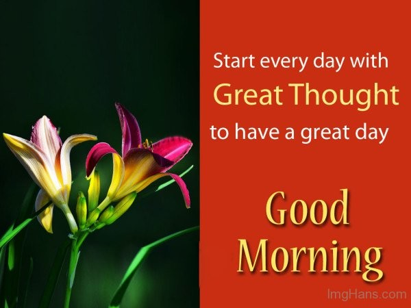 Start Every Day With Great Thought-wg015107