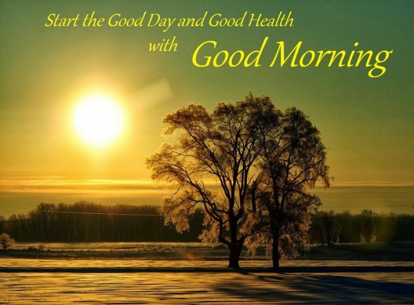 Start The Good Day And Good Health-wg01788