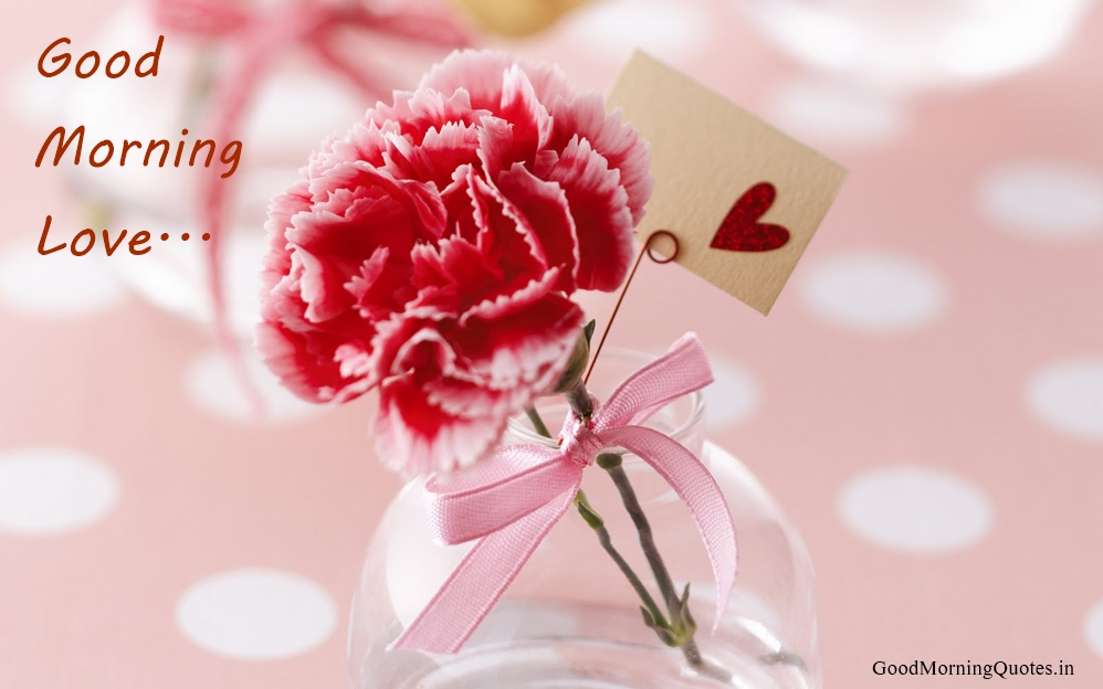 Good Morning Beautiful Red Flowers : Good morning wishes for love pictures images page